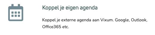 Google Agenda koppelen stap 5.